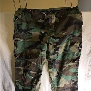 Polo Ralph Lauren men's camouflage cargo pants XL